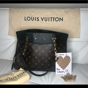 Louis Vuitton Pallas Shopper Tote Noir